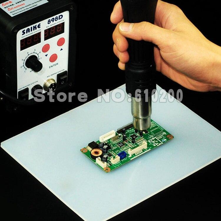 Résistant à la chaleur Pistolet à air chaud BGA À Souder Station De Réparation isolation pad maintenance isolant pad tapis de bureau plate-forme de maintenance