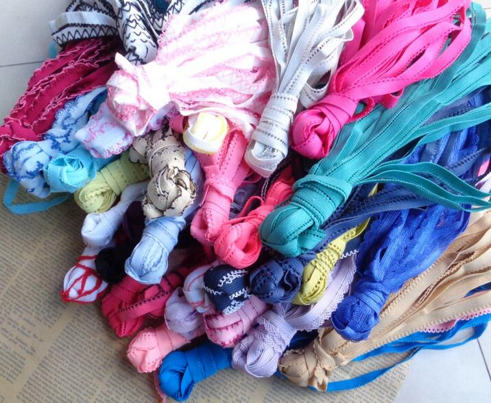 5 yards  20 mm wide Nylon Lace Handcraft Trim Assorted Colours.