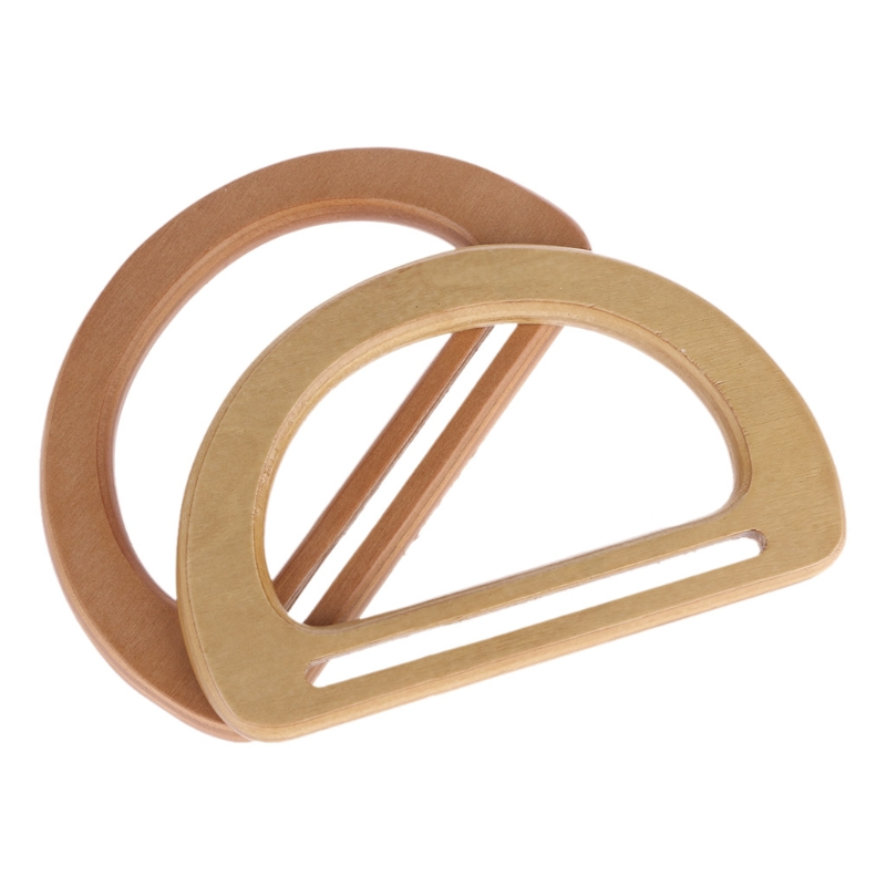 1pc New Wooden Bag Handle Replacement For DIY Bags Purse Making Handbag Shopping Tote Bag Accessories 2018