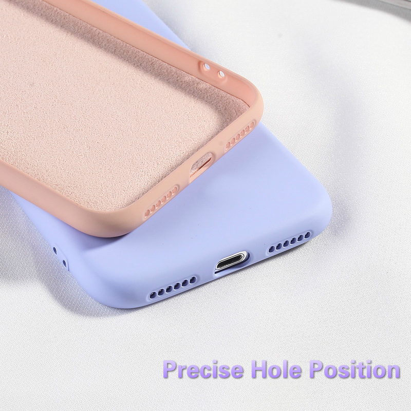 Image 5 - Candy Color Phone Case For iPhone 6 6s Plus XS XR XS MAX 7 8 Plus Covers For iPhone X Luxury Fashion Soft TPU Silicone Back Capa-in Fitted Cases from Cellphones & Telecommunications