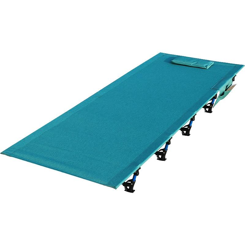 Aluminium Folding Camp Bett Tragbare Falten Camping Bett Ultraleicht Klapp Bett Angenehm Bis Zum Gaumen