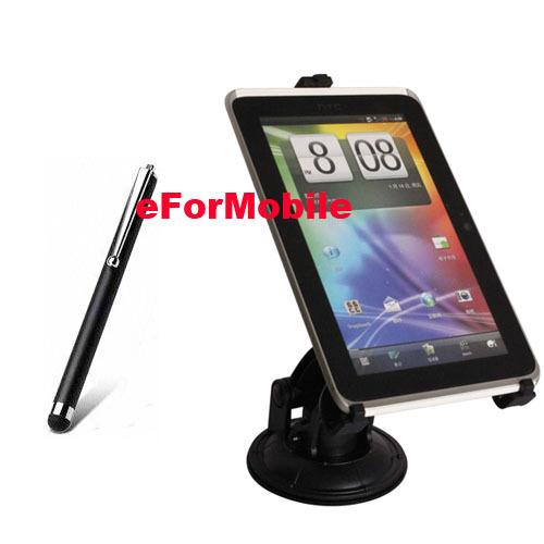 Universal de teléfono móvil rotativo sostenedor del coche del sostenedor Tablet PC stand titular para el iPad de Apple Pro 9.7