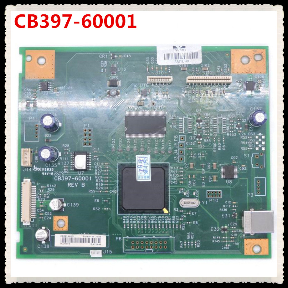 FORMATTER PCA ASSY Formatter Board logic Main Board MainBoard mother board for M1005 1005 cb397-60001 free shipping original cf387 60001 formatter board for hp m475 m476 m476dn 476dnw mainboard formatter board logic board
