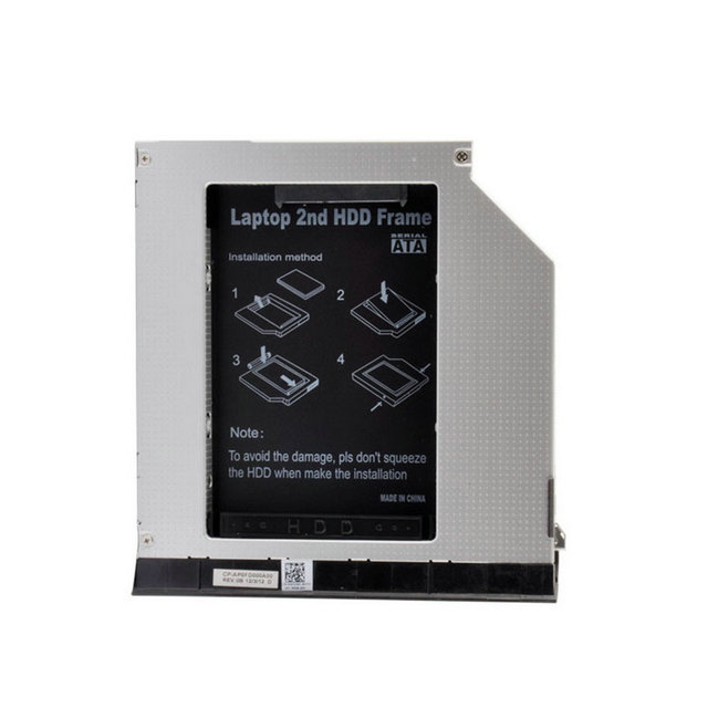Laptop Second HDD Frame Hard Drive Caddy W/ Ejector Module For Dell E6420