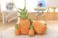 New creative vào mùa hè 3d vivid trái cây gối in pineapple shape văn phòng trở lại đệm sofa ném gối món quà của bạn