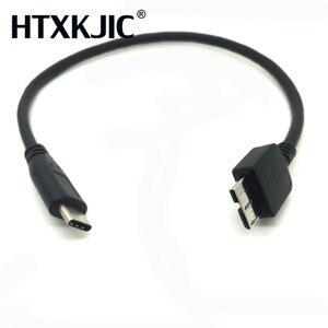 Image 1 - USB 3.1 Type C إلى USB 3.0 مايكرو B كابلات الموصلات للقرص الصلب هاتف خلوي هاتف ذكي