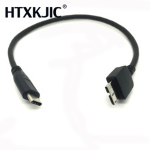 USB 3.1 Type C to USB 3.0 Micro B Cable Connector For Hard Drive Smartphone CELL PHONE PC
