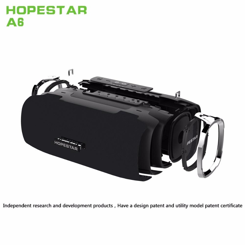 HOPESTAR A6 Portable Waterproof Wireless Bluetooth Stereo Speaker Soundbox Well