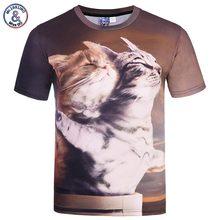 2017 Mr.1991INC New Tops Designed Men/Women 3d T-shirt Print Titanic Cats Lovers Tees Shirts Summer Cool T shirt