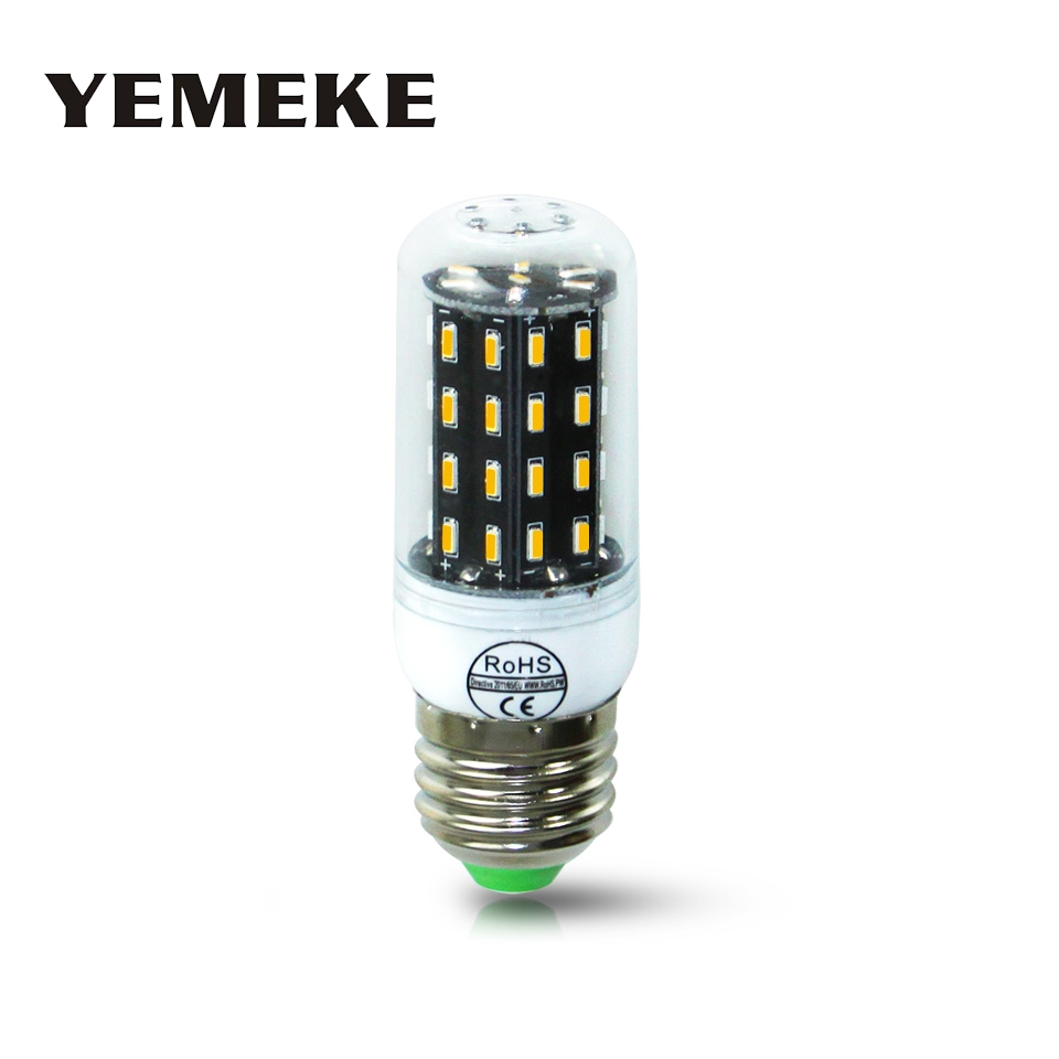Ampoule Lampada E14 55 Lamp 220V 55 Light 38 40OFF in E27 US1 Than 140Leds Luz 88 4014 LED lamparas 78 More 5730 LED LED Bulb SMD Candle Bright wOPkiTXZu