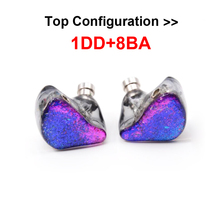 2016 New NiceHCK DZ9 In Ear Earphone 1DD+8BA Drive Unit DIY HIFI Monitor Printing NiceHCK Customized With MMCX/ 2-Pin Interface(China (Mainland))