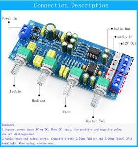 Image 4 - CIRMECH 2019 NE5532 OP AMP HIFI Amplificatore Preamplificatore Scheda di Controllo di Tono del Volume EQ kit Elettronico