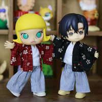 2019 kimono Ukata ensemble pour Obitsu11 OB11 1/12 poupée OB11 poupée cgc molly disponible pour cu-poche OB11 accessoires poupée