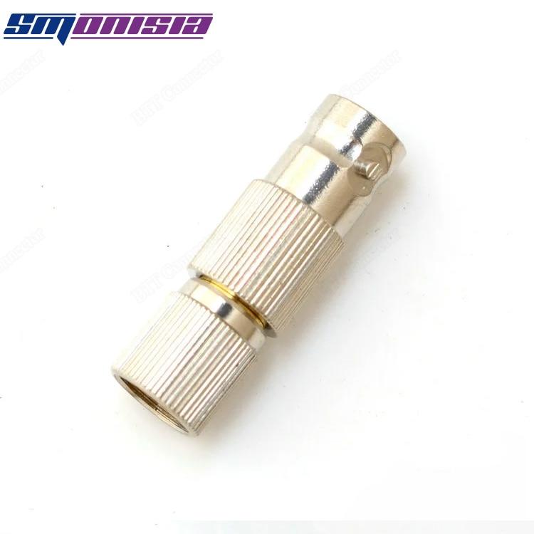 10pcs-1000pcs BNC Q9 Female Socket To L9 Male Plug Video 2M Connector