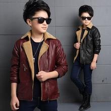Новый бренд моды дети ИСКУССТВЕННАЯ кожа мотоцикл куртки осень-весна детей и пиджаки дети остыть пальто детская одежда мальчика