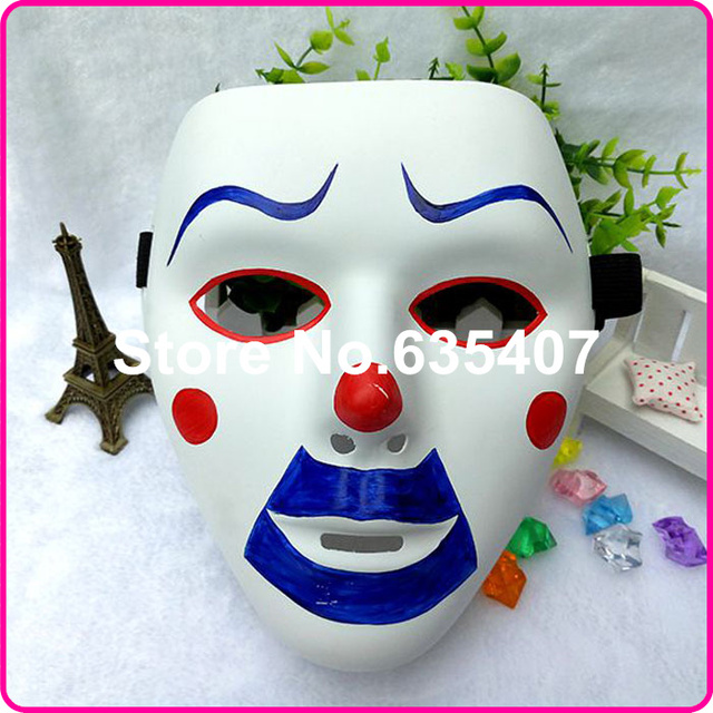 deluxe clowns face mask halloween mask scary clown masks for party cosplay masquerade acting pvc painted