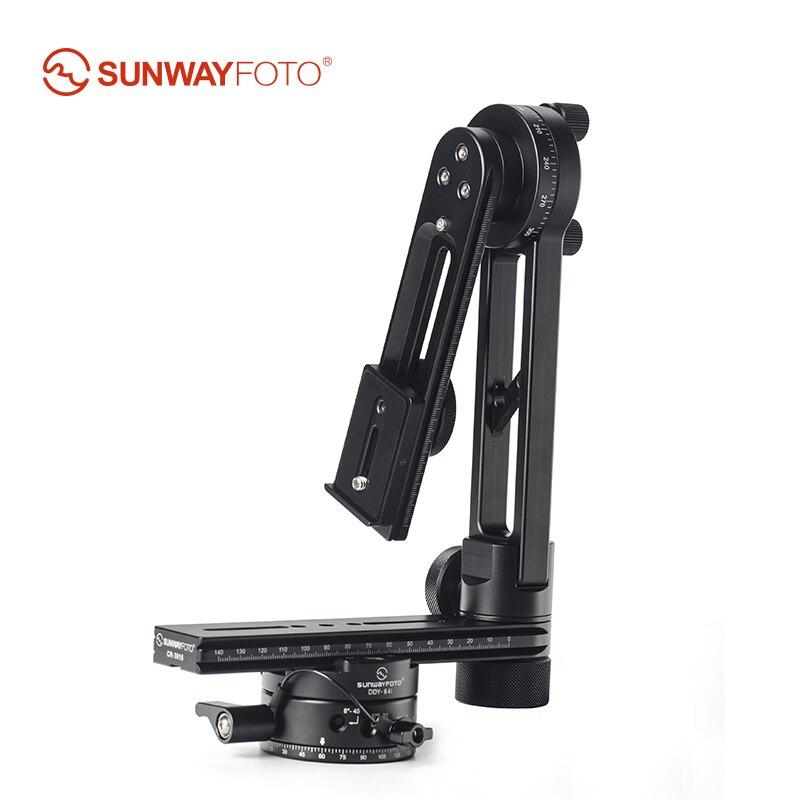 SUNWAYFOTO CR-3015A 360 VR Panoramique Trépied Tête Trépied Tête Panoramique Caméra Stand Panorama Tête pour Manfrotto Benro