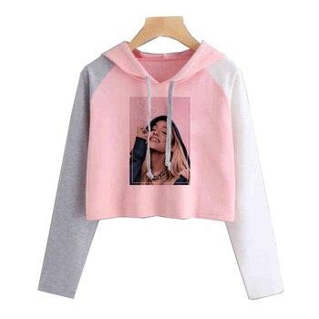 ariana grande 2019 t shirt women tshirt fashion new harajuku kawaii shirt t-shirt korean clothes ulzzang Short High Street jung kook bts persona