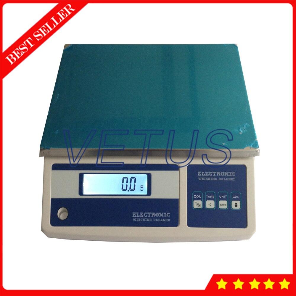 25 Мб Высокая точность 25 кг/0,1 г электронный инструмент для взвешивания ЖК дисплей Электронные весы электронные весы с платформой