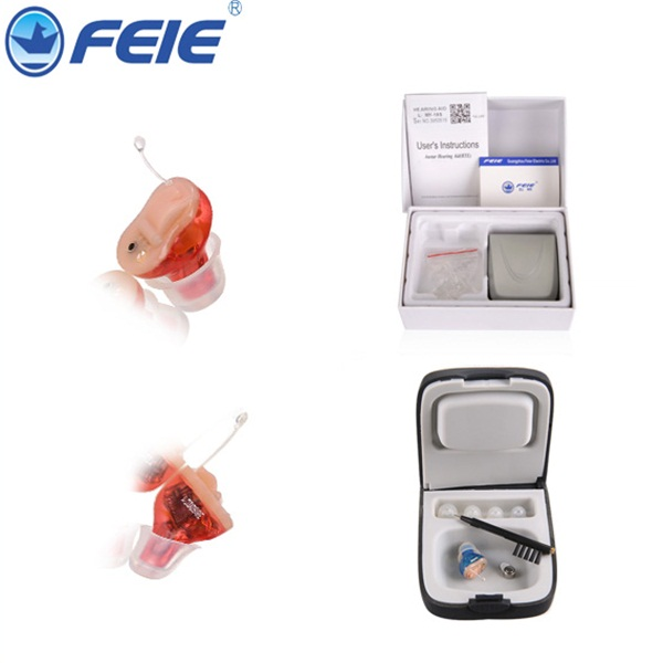 Pharmacy Hearing Aid Prices For Personal Ear Care Mini Amplifier CIC Ear Canal  S-13A free shipping hot selling comfy good quality hearing aid review high end digital hearing aids prices free shipping s 12a
