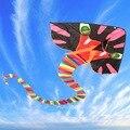 8 M Nueva Gran Serpiente Cyan Fácil de Volar Los Juguetes de Los Niños Diversión al aire libre Deportes Regalo Buena Volando Juguete de Juegos Para Niños y Adultos