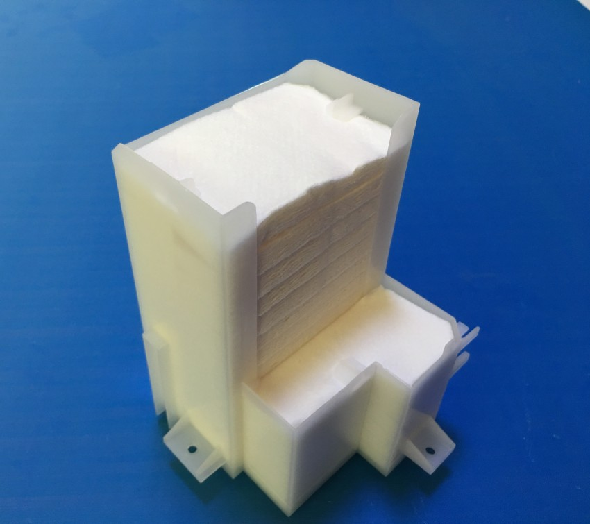 10 Sets Original Waste Ink Tank Pad Sponge For Epson T50 T60 P50 P60 A50 L800 L801 L805 R280 R290 R330 Rx600 Rx610 Rx690 Px650 100% Original Printer Parts Printer Supplies