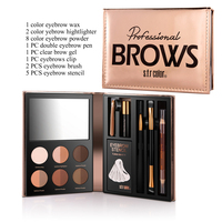 Professional   Makeup     Set   Eyebrow Pen + Eye Highlighter + Eyebrow Brush Make up   Set   Kit