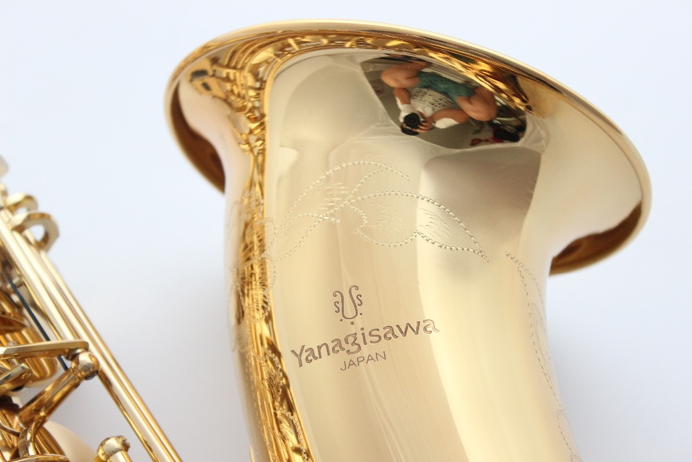 Saxophone Soprano du japon S-9937 S-WO37 cou droit courbé nickelé saxo Soprano Instruments de musique professionnel avec étui