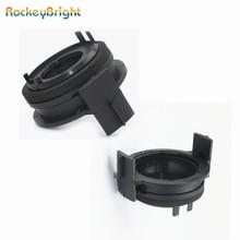 Adapters-Holders Led-Headlight-Bulbs 330i 323i H7 Bmw E46 Rockeybright 2pcs for 3series/325ci/325i/..