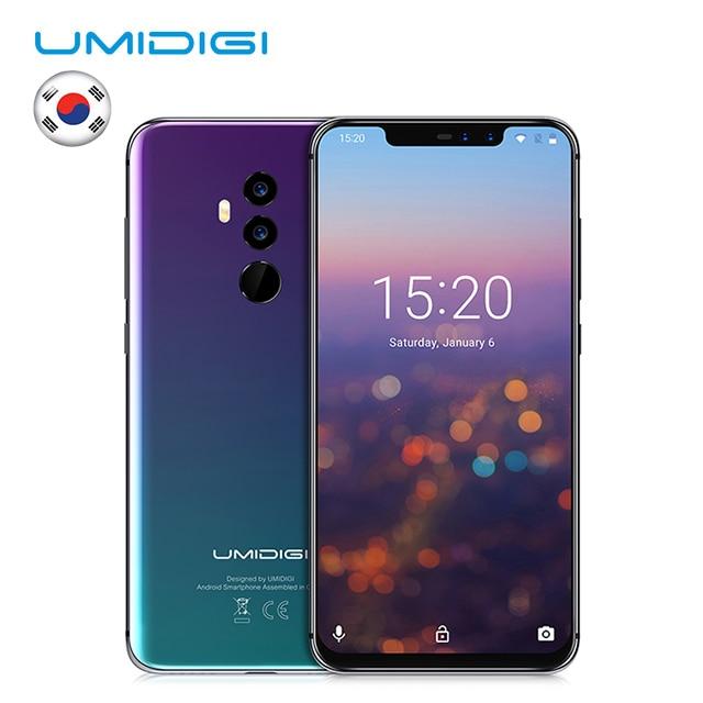 "UMIDIGI Z2 Special Edition Global Bands 6.2"" FHD+Full Screen Helio P23 4G+64GB F/1.7Big ApertureCamera Android 8.1 4G Smartphone"