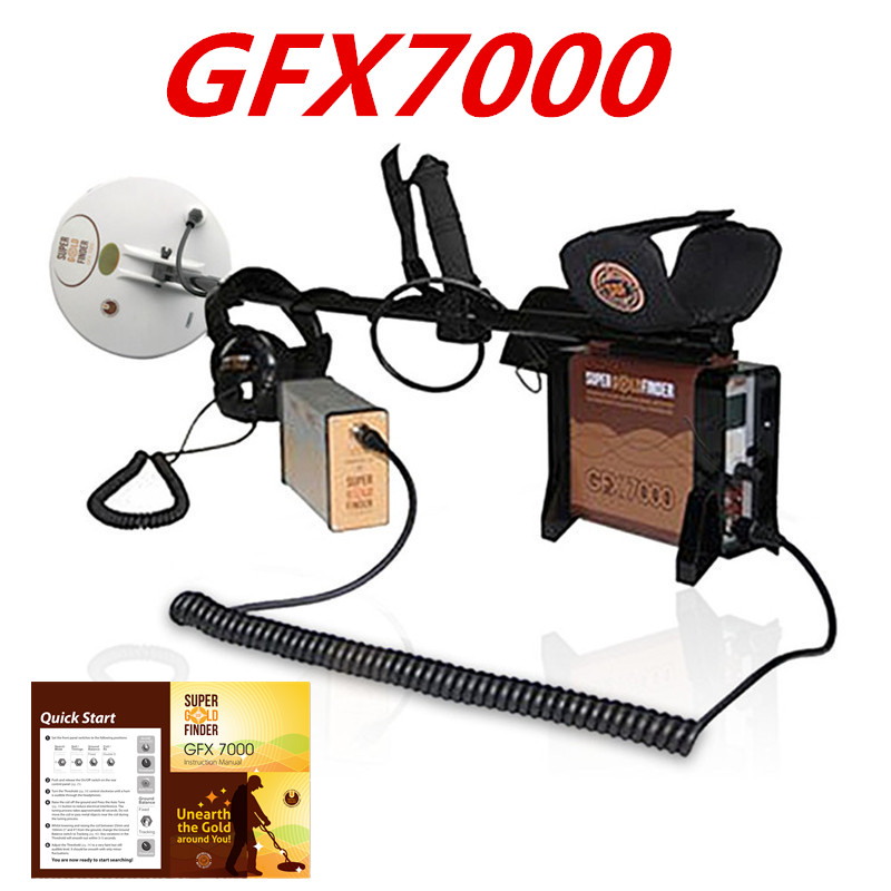 GFX 7000 High Performance Underground Metal Detector Gold Finder Deep Earth Gold Scanner Gold King Metal