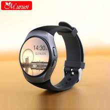 M.uruoi KW18  Bluetooth Smart Watch Phone Full Screen Support SIM TF Smartwatch Heart Rate WristWatch for IOS Android Smartphone
