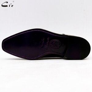 Image 5 - Мужская классическая кожаная обувь cie, мужская офисная обувь, мужские костюмы из натуральной телячьей кожи, деловые кожаные туфли ручной работы No.7