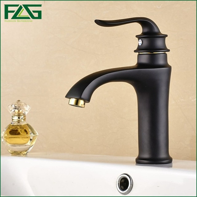 FLG Luxury Bathroom Faucet Oil Bronze Faucet Black Faucet From China ...