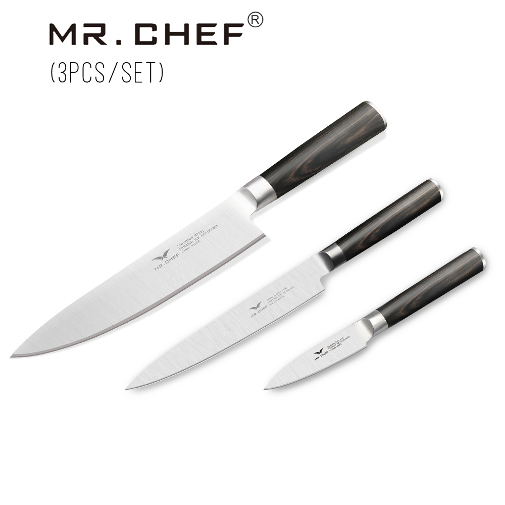 aliexpress com buy sunnecko high quality 3pcs knife set damascus 21 pretty professional. Black Bedroom Furniture Sets. Home Design Ideas