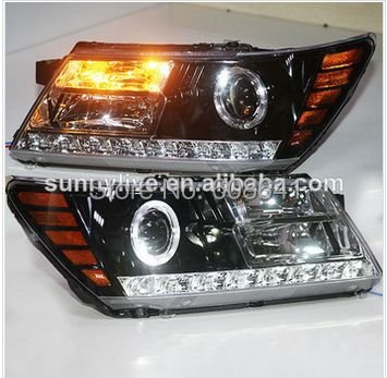 For Dodge Journey JCUV LED Head Lamps 2009 2014 Years