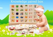 Free delivery,Infants, early education AIDS,cognition matching box,125PCS Building blocks,Fruit animal traffic,3 years old,toy