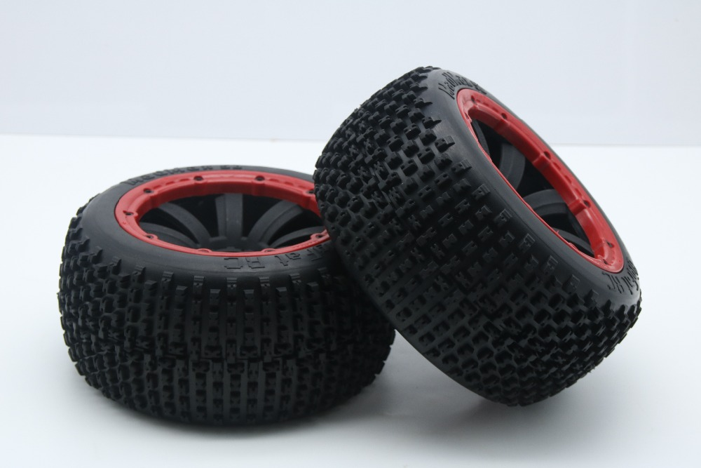 Madmax New Nail  tyre wheel set for baja 5b HPI KM ROVAN 5b ss front sand buster tyres tire set with nylon wheel 2pcs for baja 5b hpi km rovan