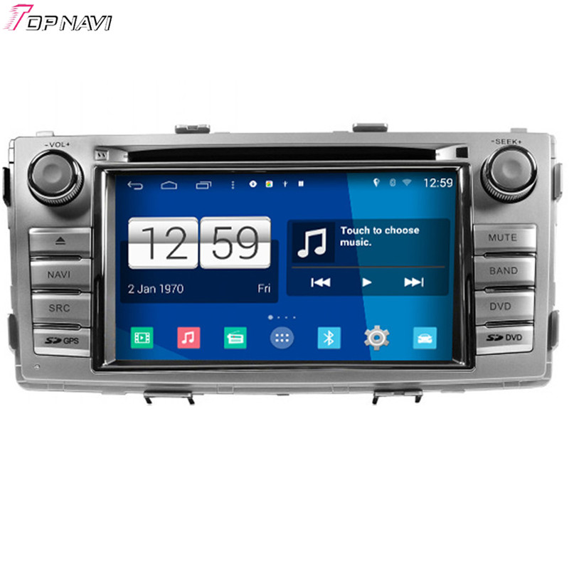 "Winca 6.2"" Quad Core S160 Android 4.4 Car DVD Multimedia GPS For Toyota New Hilux With Stereo Radio Mirror Link 16Gb Flash"