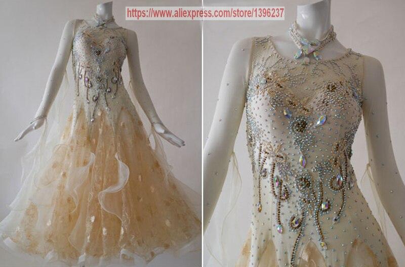 Бальные платье для танцев взрослых 2018 Новый Дизайн индивидуальный заказ Танго Фламенко вальс Бальные конкурс платья для танцев Для женщин