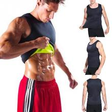 Men Clothes Neoprene Vest Body Shaper Slimming Belt Waist Fat Burning Bodybuilding #20