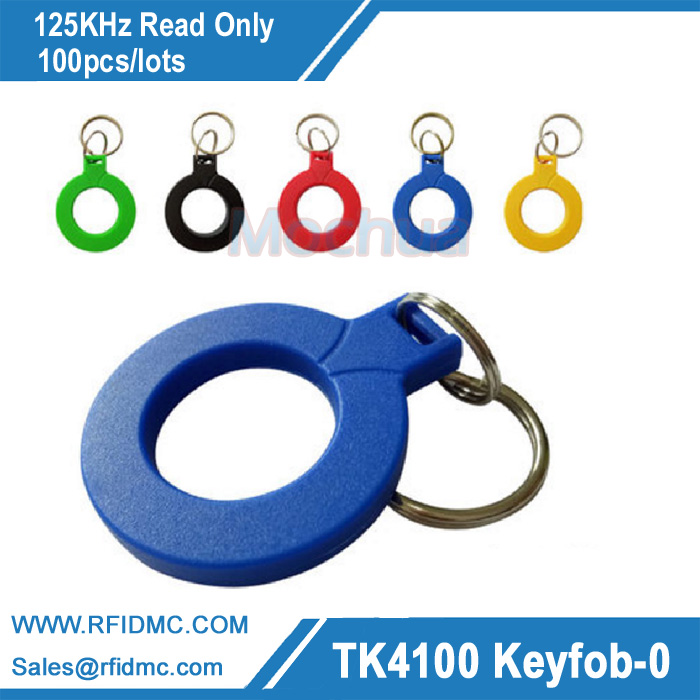 TK4100 125KHz RFID Tag Proximity Key Fobs Tags RFID Read Only Card for Access Control Time Attendance turck proximity switch bi2 g12sk an6x