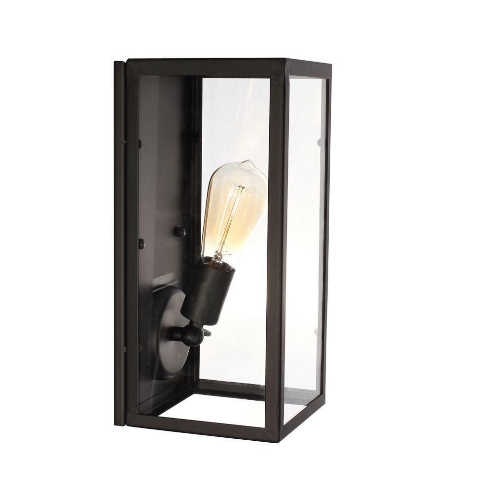 vintage loft filament narrow box wall lamp industrial glass wall sconce e27 outdoor wall light. Black Bedroom Furniture Sets. Home Design Ideas