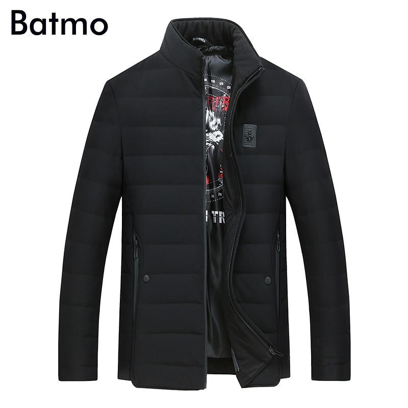 Batmo 2017 new arrival winter high quality 90% white duck down jacket men,winter mens coat ,plus-size M,L,XL,XXL,XXXL 8925