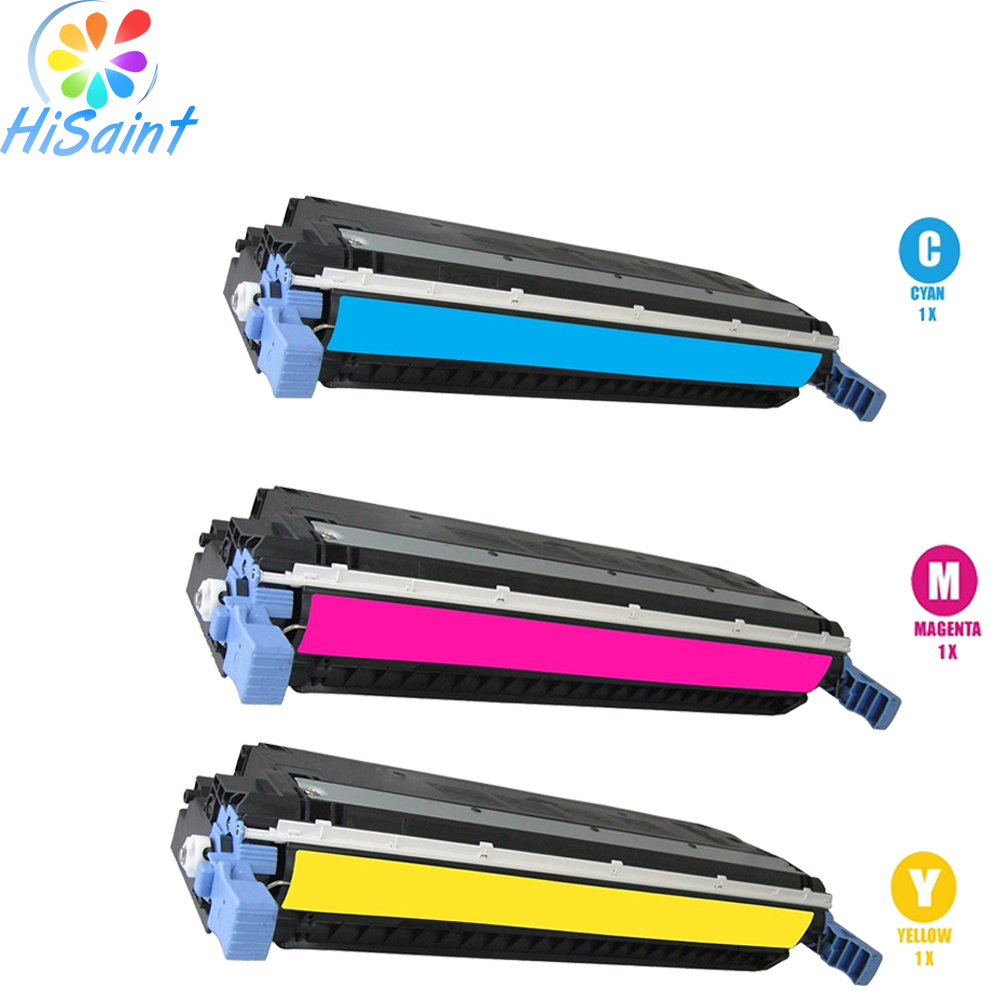 ФОТО Hot Sale for HP 503A Toner Cartridge Set-(C Y M) Q7581A Q7582A Q7583A Cheap for HP Color LaserJet Drucker Surprise price