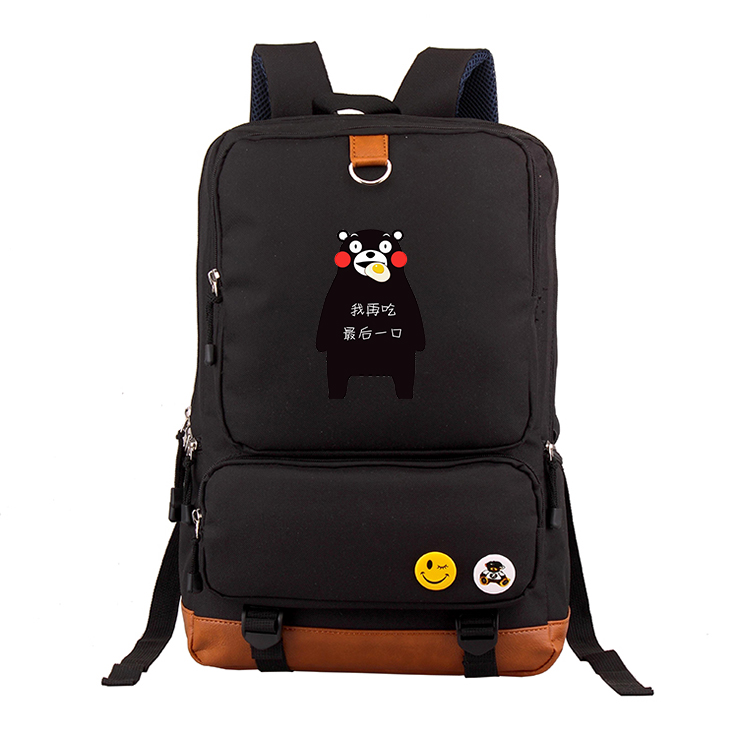 Anime Kumamon COSPLAY Casual fashion male and female students schoolbag travel backpack           Anime Kumamon COSPLAY Casual fashion male and female students schoolbag travel backpack