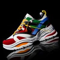 Брендовая толстая подошва модные кроссовки суперзвезда мужская повседневная обувь черная обувь мужская обувь для ходьбы Уличная обувь для...