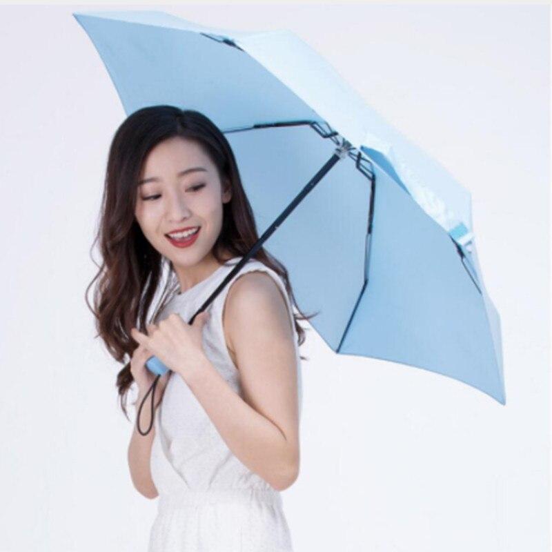 Original Xiaomi umbrella 50% fold Super short sun protection Umbrellas protable Ultralight Rainy Umbrellas waterproof Windproof fulton umbrellas l720