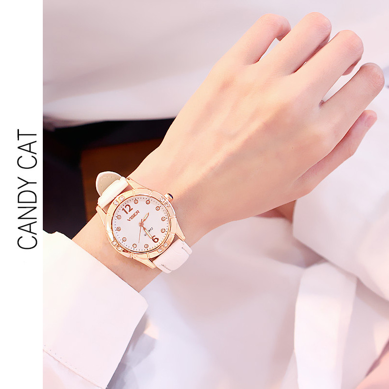 watch student Korean version of the simple cute junior high school small fresh wild Sen casual atmosphere women watches