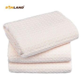 """Sinland 12-pack 13 """"x 13"""" microfibre gaufre tissage torchon débarbouillettes chiffons faciaux ménage chiffon de nettoyage"""